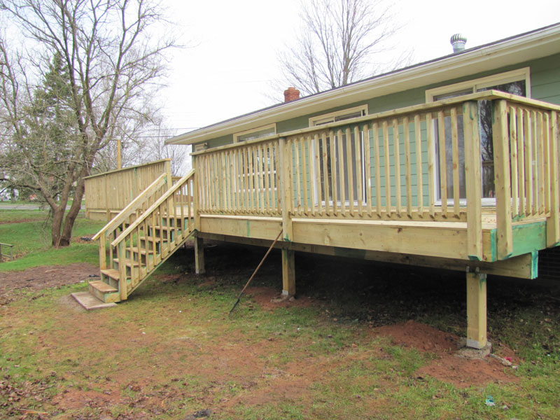 Onslow deck replacement